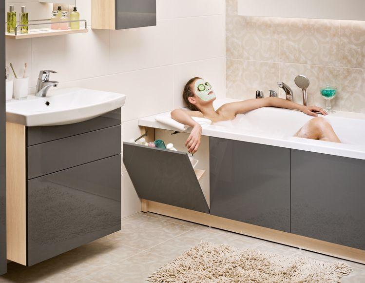 Боковой экран под ванну